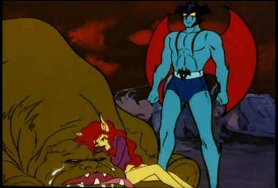 Devilman - combattimento